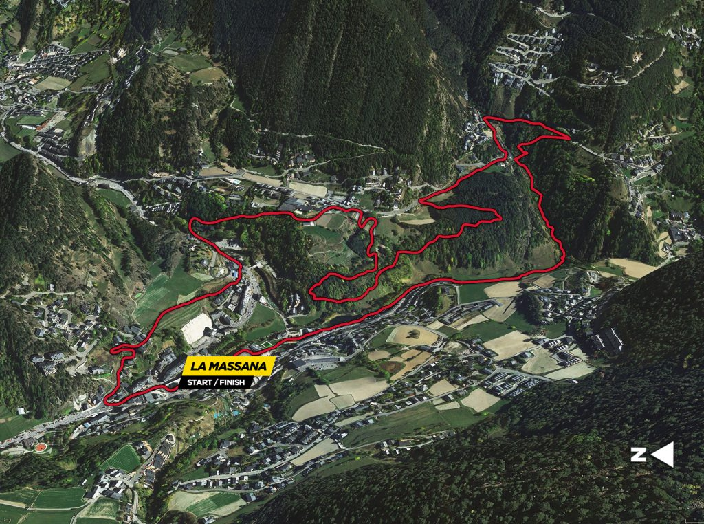 MTB Classic Prologue 7km Map