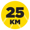 Andorra Trail100 Distance Icons 25